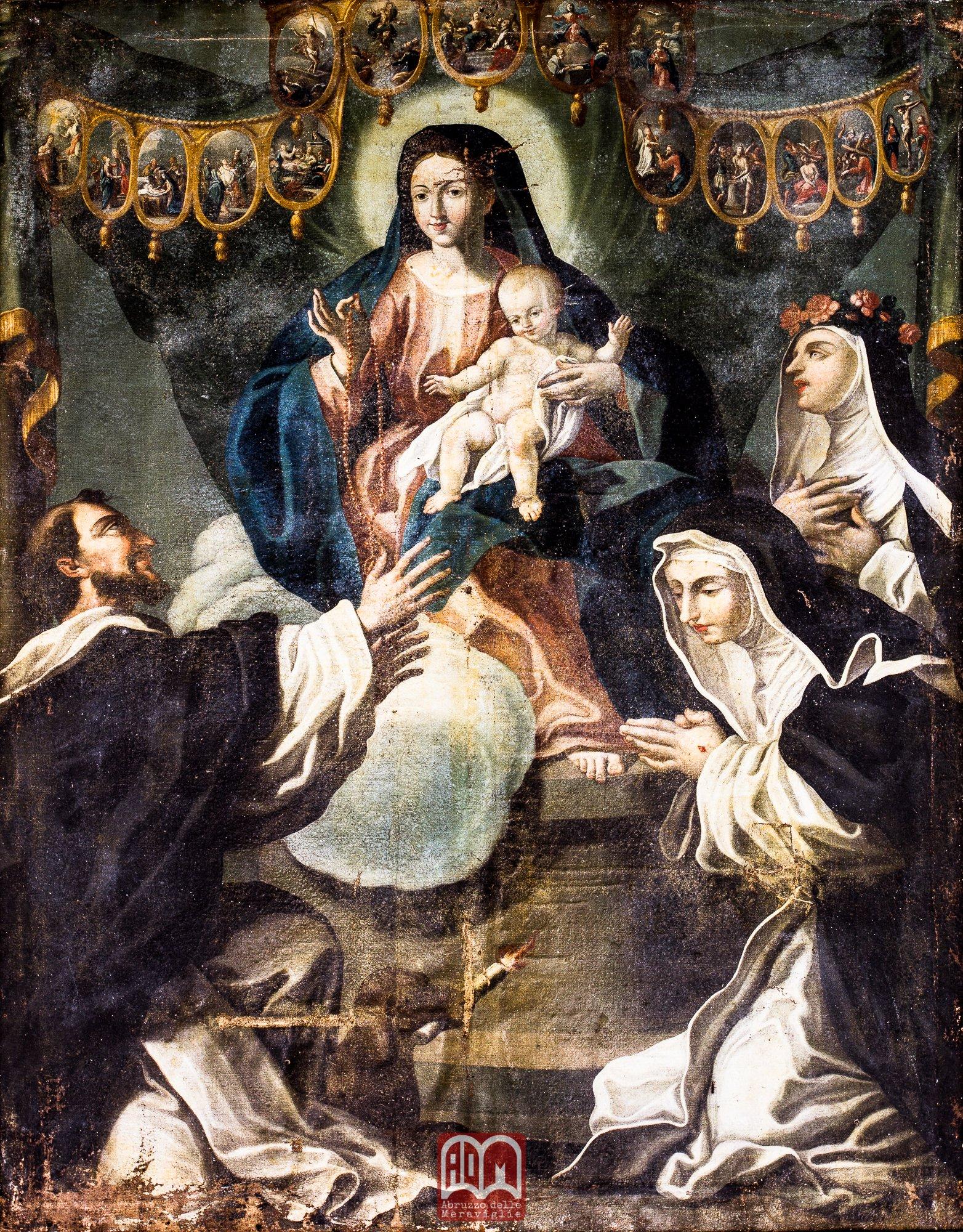 Risultati immagini per madonna del rosario